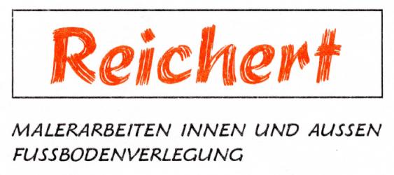 Malereibetrieb Hartmut Reichert